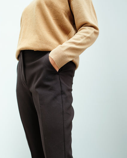 MM Leone Trousers in Black