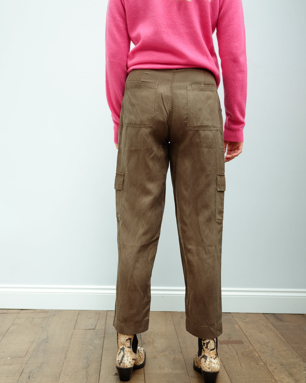 RAILS Cargo trousers in olive