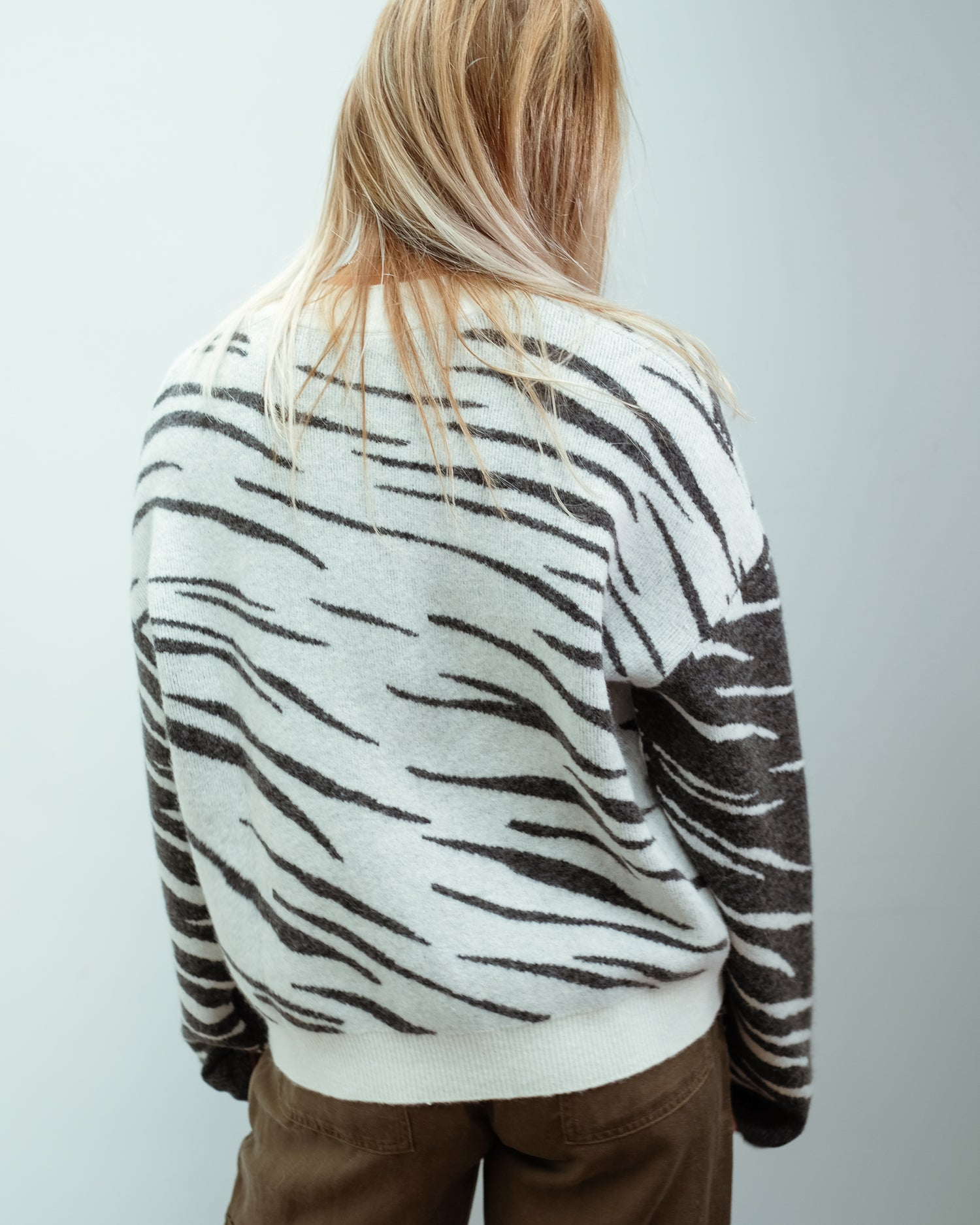 RAILS Lana knit in abstract tiger