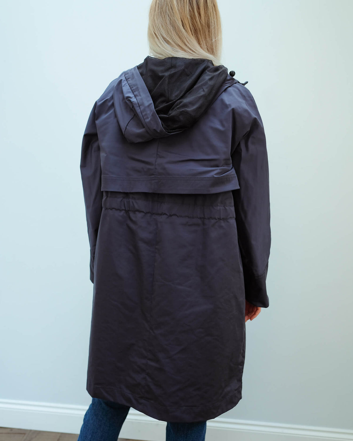 MM Destino raincoat in navy