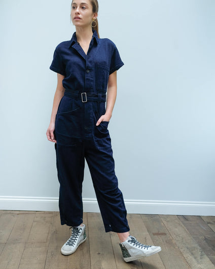 AB 151117 Lightweight jumpsuit in indigo