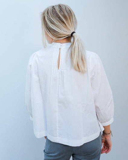 SLF Nova top in white