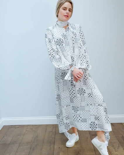 BMB Niccolo dress in soft white