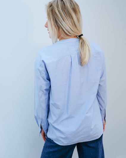 H Canyon top in blue