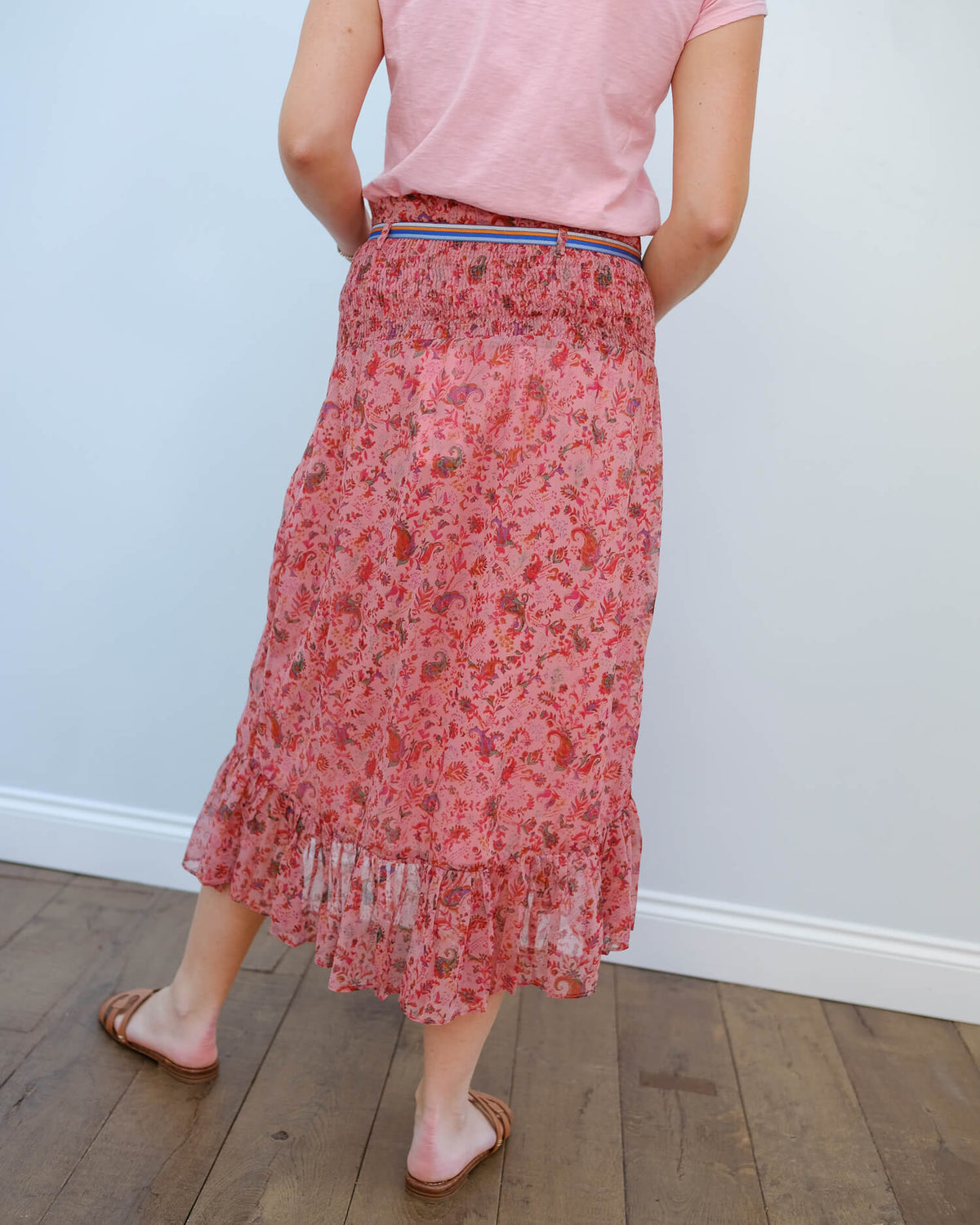 MOLIIN Jessika skirt in orchid rose