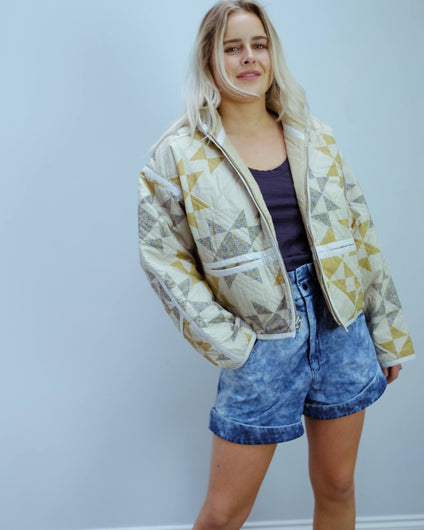 IM Sazzle jacket in beige