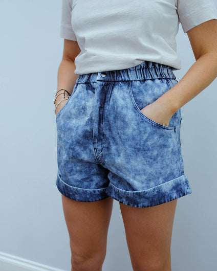 IM Itea shorts in blue