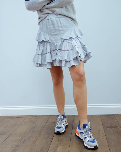 IM Alikaya skirt in greyish blue