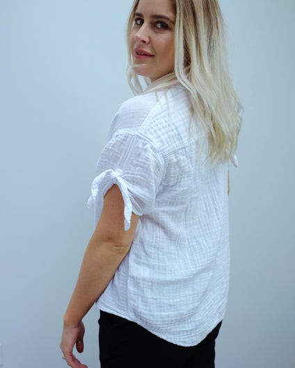 MSTARS Tess shirt in white
