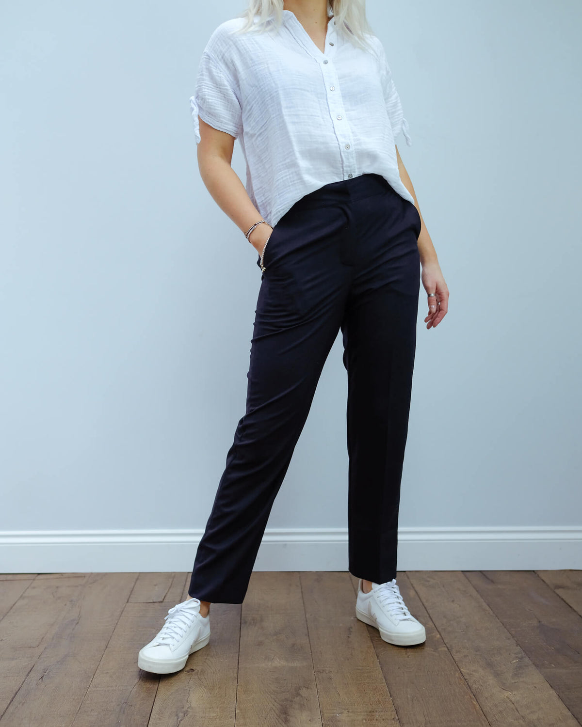 LOR Rou movi pants in navy