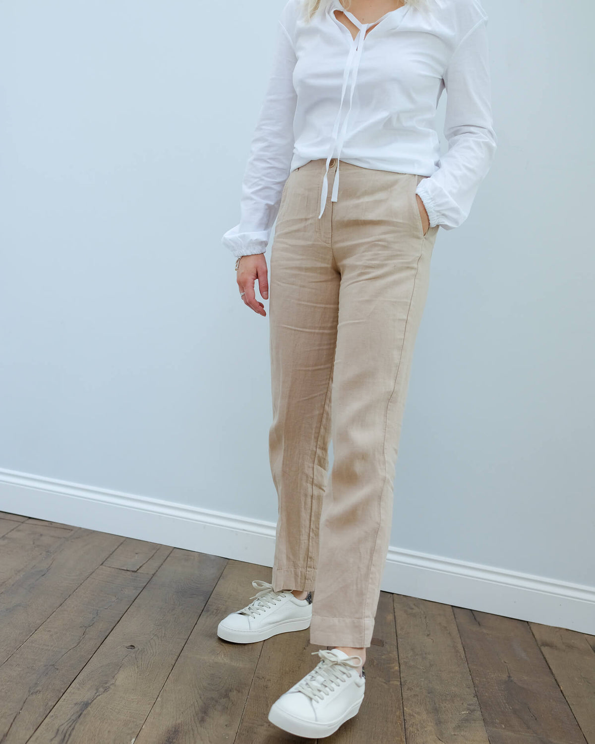 H Proof trousers in natural