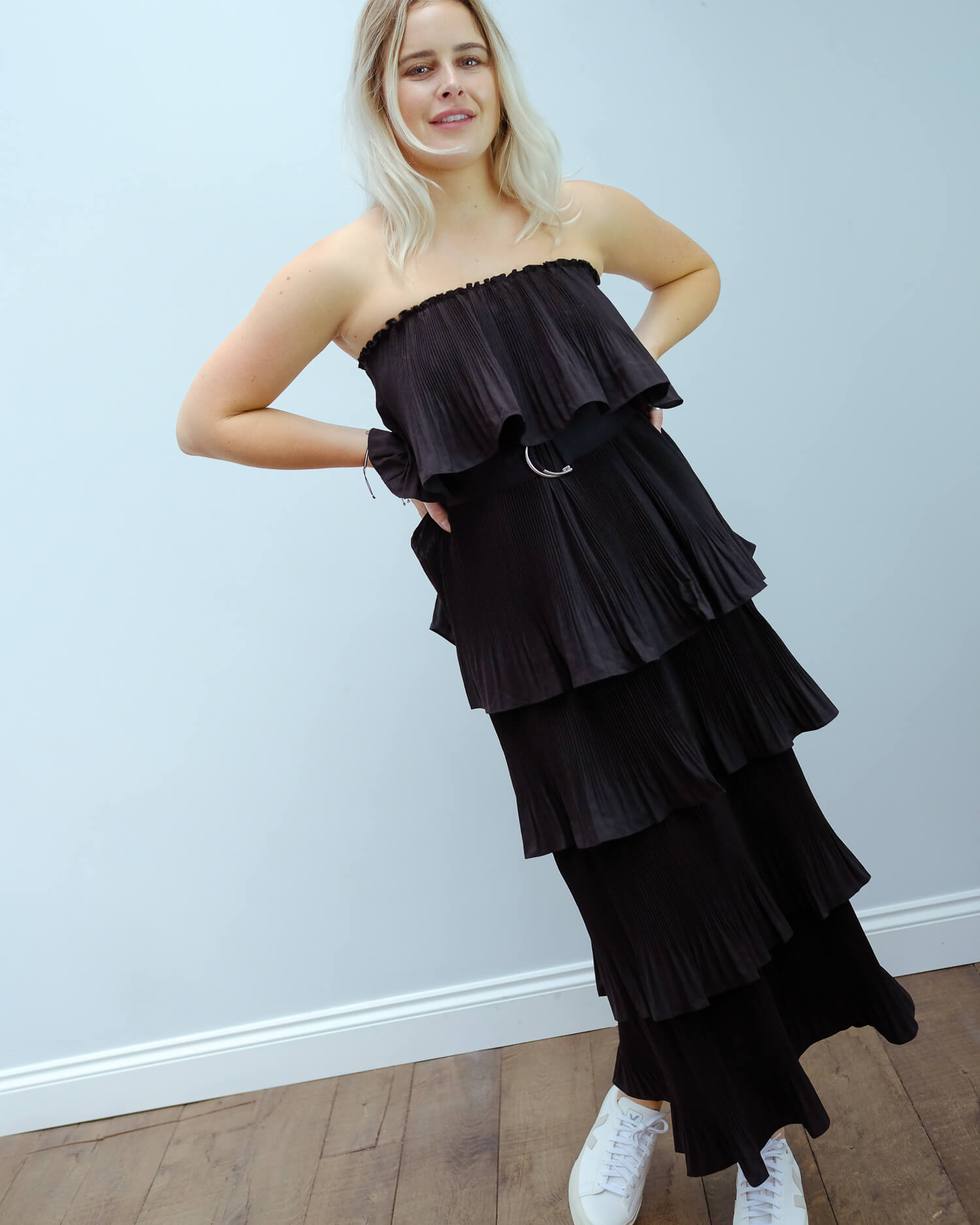 EA Valentina ruffled dress