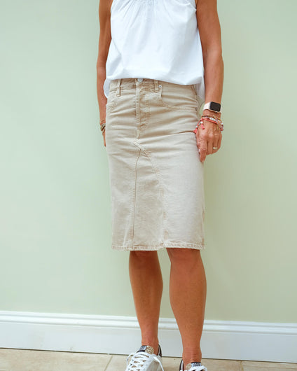 IM Fialic skirt in beige