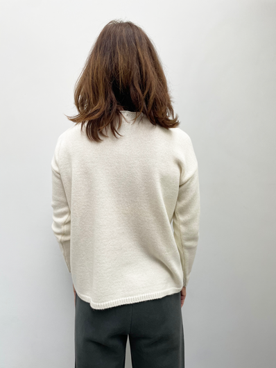 SIBIN Lupe knit in off white