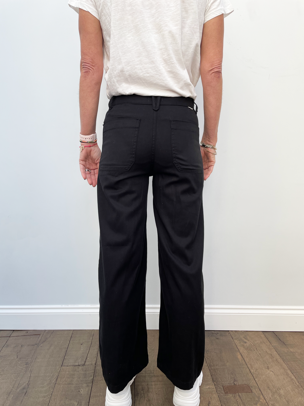 FIVE Lucia Trousers in Black
