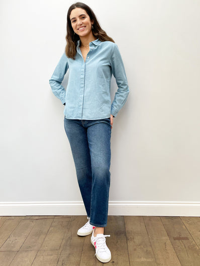 SLF Gilli LS Shirt in Light Blue