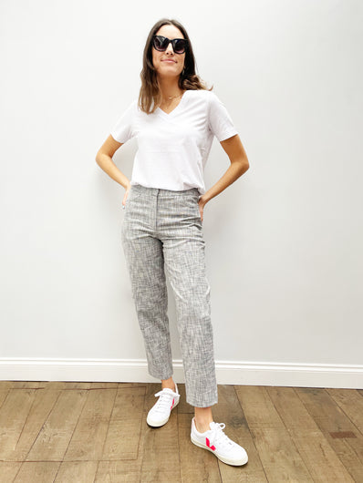 SLF Alba Cropped Pant in Birch
