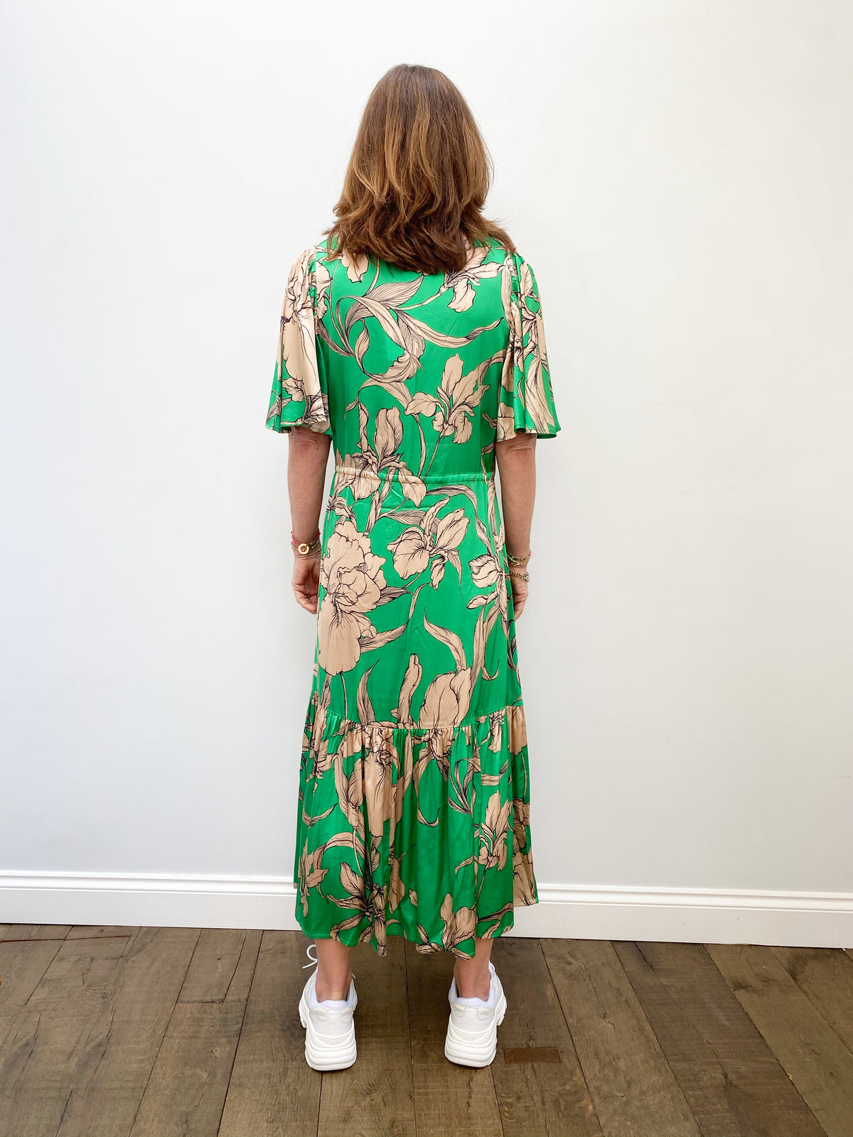 M Tanta Dress in Green