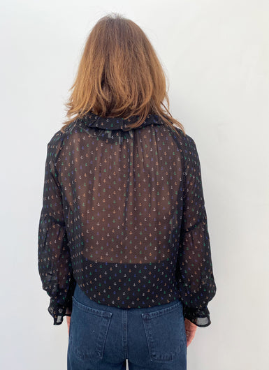 M Tinker Blouse in Black
