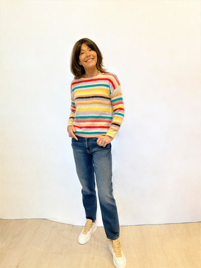 BR Datsha Relaxed Knit in Multi