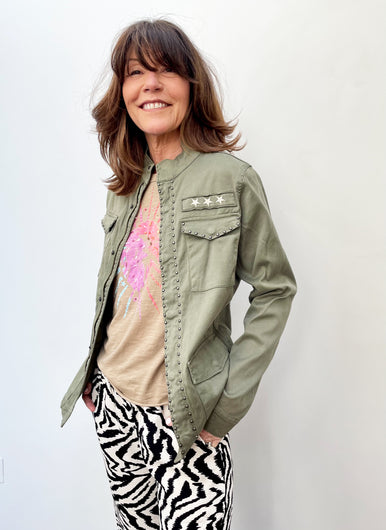 FIVE Brenda Jacket in Khaki