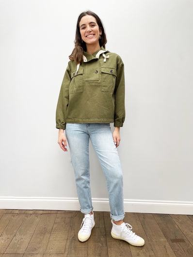 BR Lys Jacket in Army