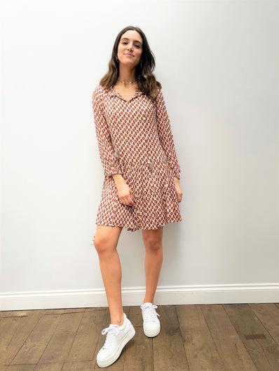 MOLIIN Rasmine Dress in Cinnamon Stick