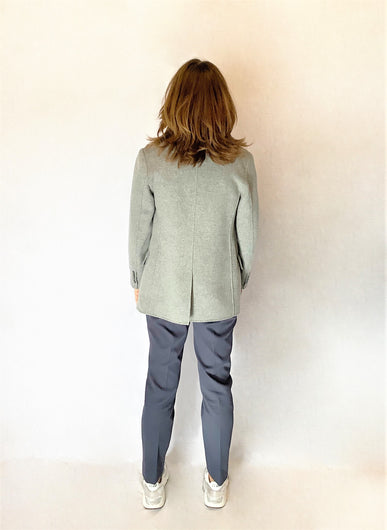 MM Vieste Wool Jacket in Grey Melange