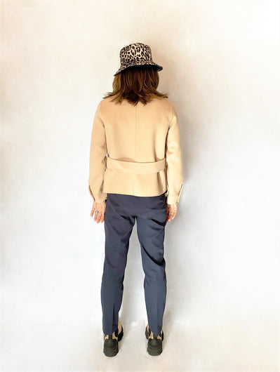 MM Biavo Wool Jacket in Barley Melange