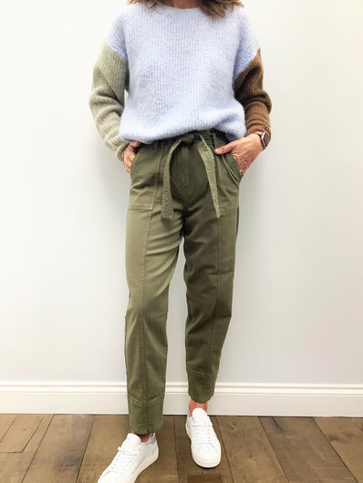 SEC.F Terry Trousers in Olive
