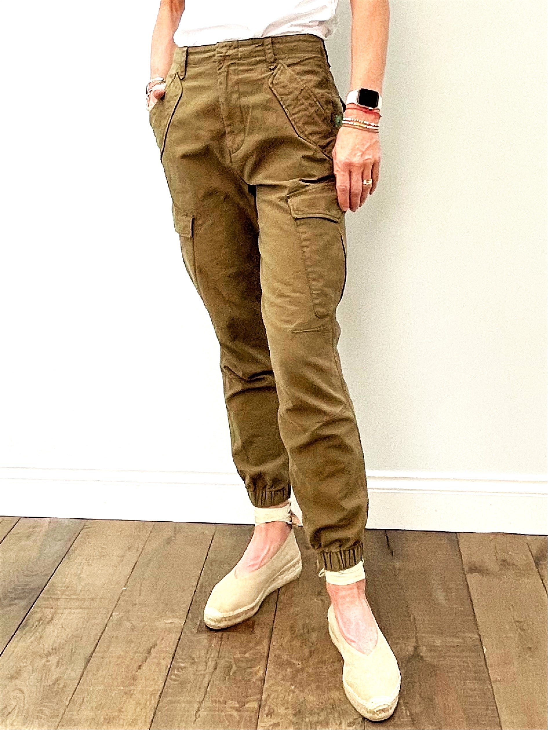 R&B Field Jogger in Dark Olive