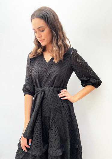 SLF Cece Sadie Dress in Black