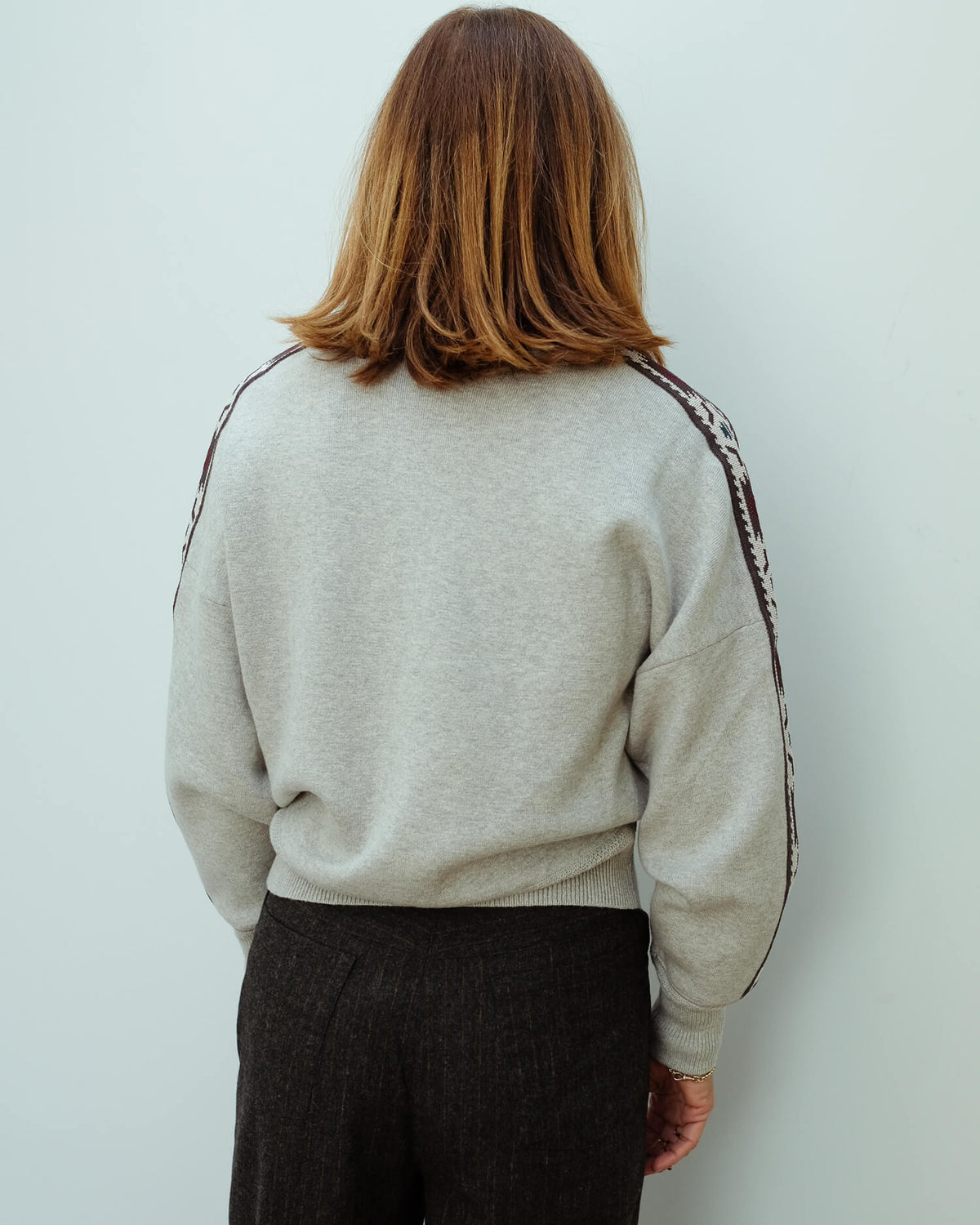 IM Kaoli pullover in grey