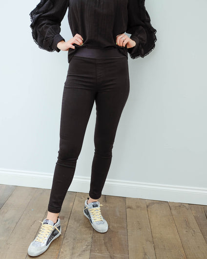 JB Dellah high rise legging in seriously black