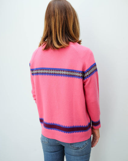 JU Fairisle knit
