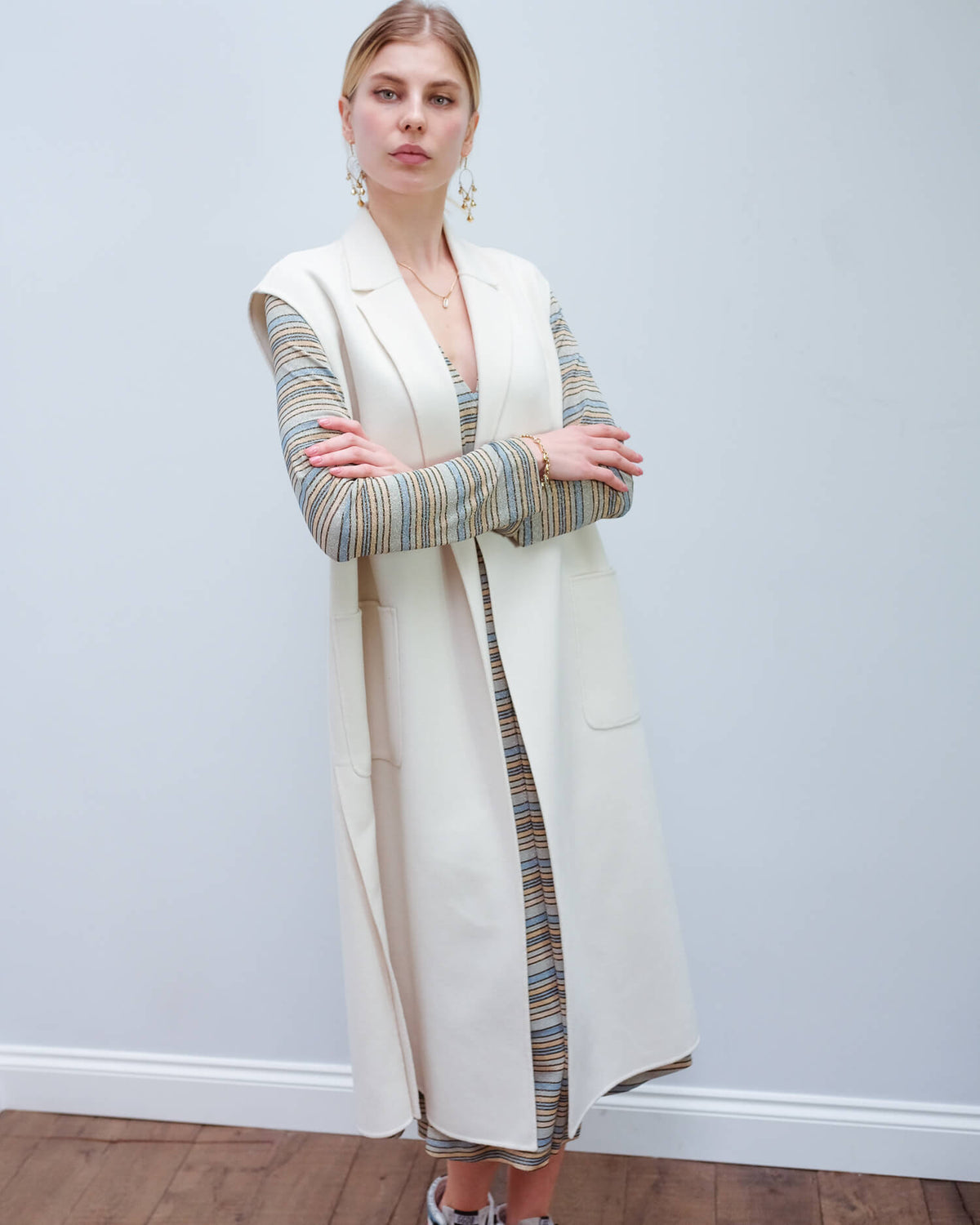 MM Sapri coat in ivory