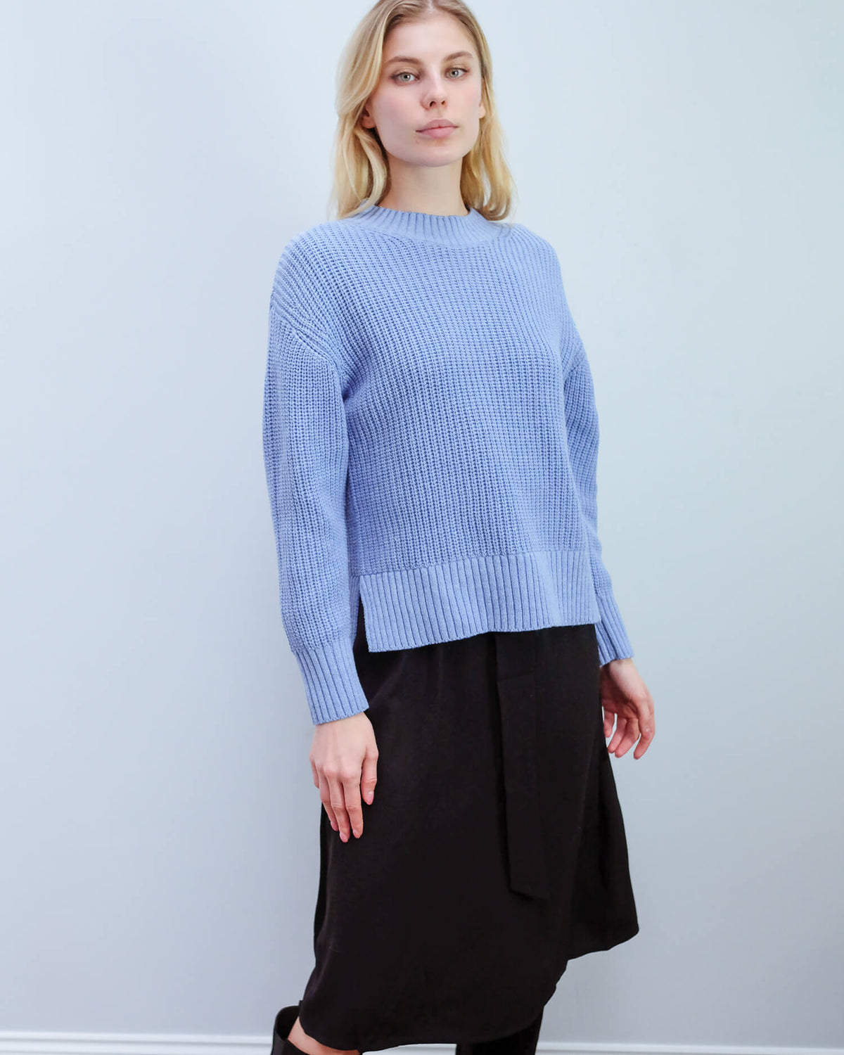 SLF Bailey Knit in blue melange