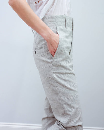IM Noah trousers in light grey