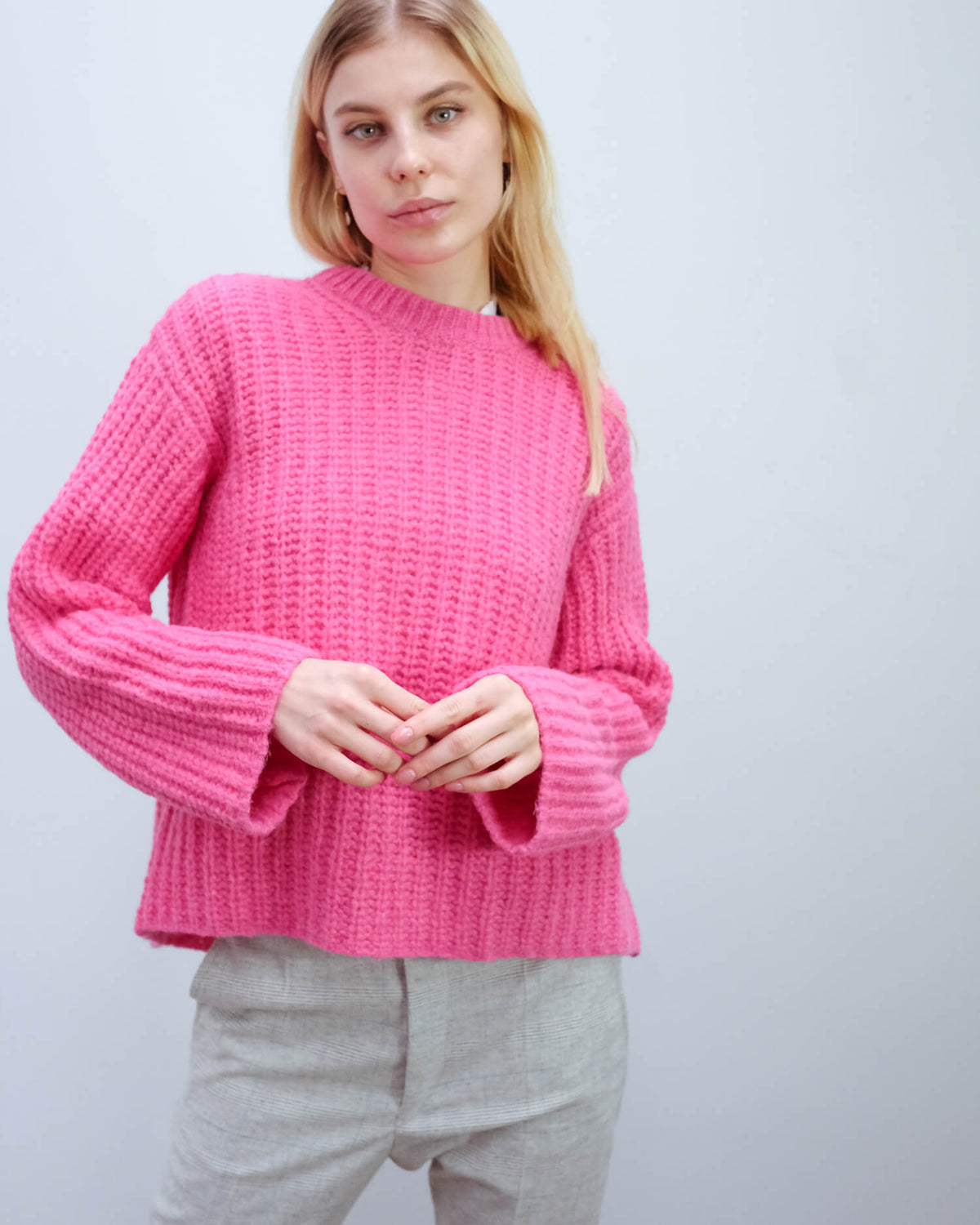BMB Nosema knit in bubblegum