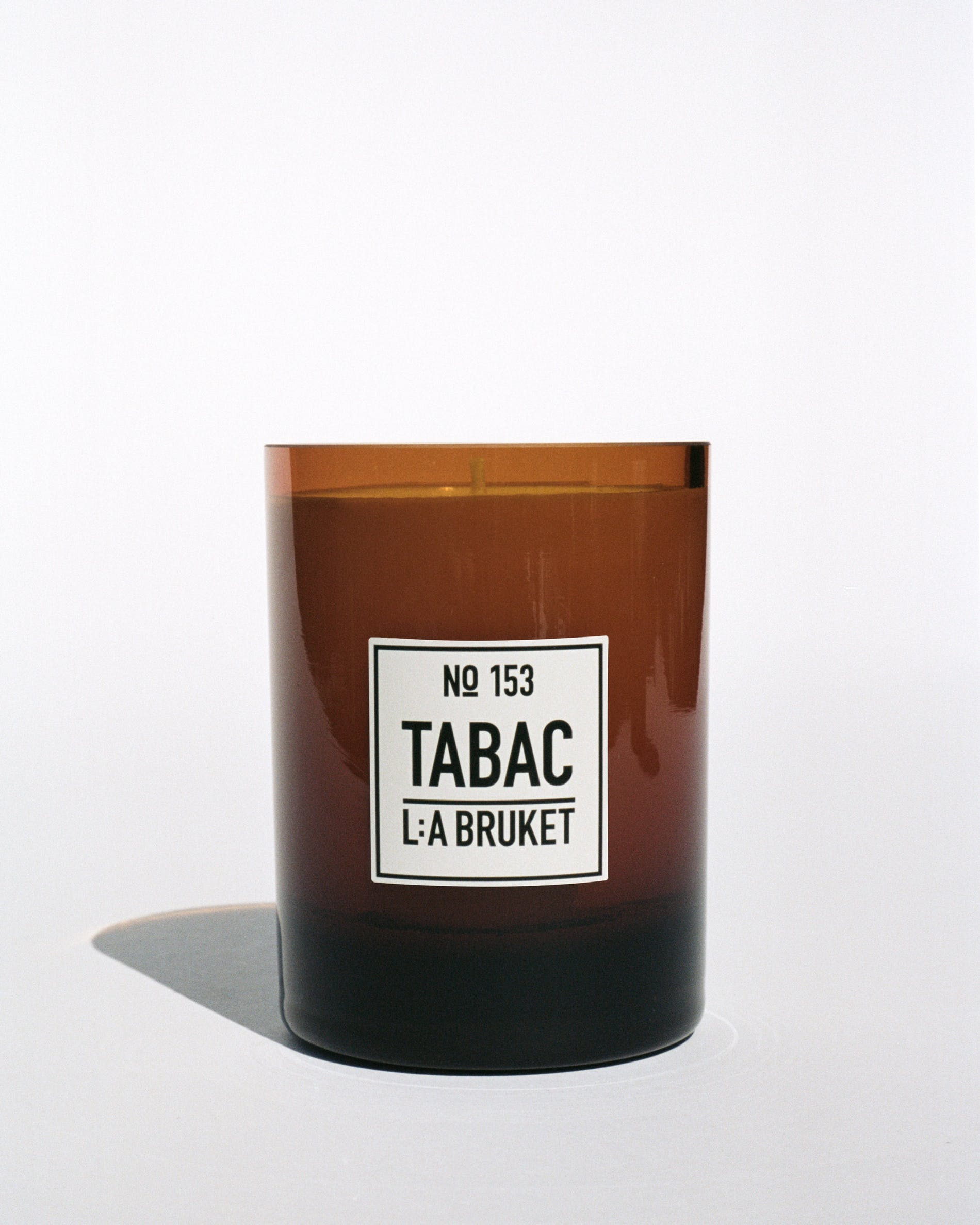 L:A Bruket candle in tabac