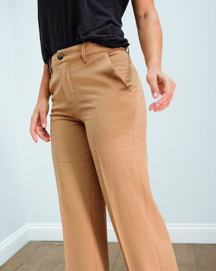 LOR Lan trousers in camel