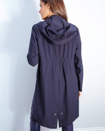 HWL Fishtale parka light technic in dark blue