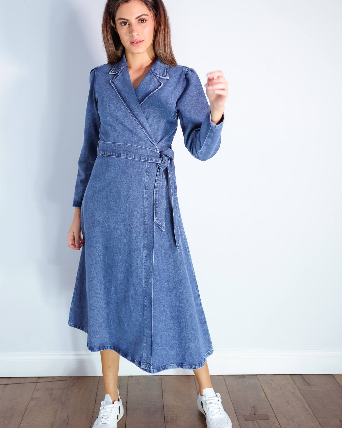 SLF Harper denim dress