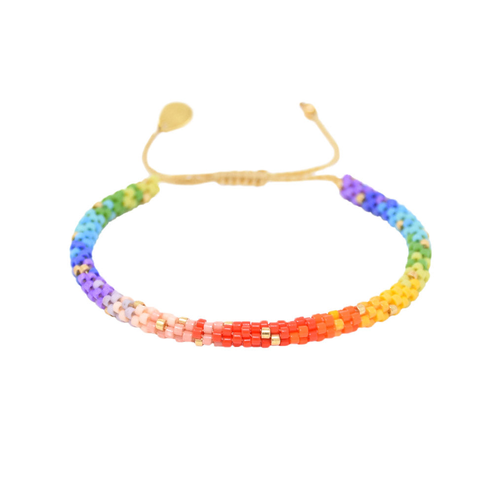 MISHKY Rainbow hoopys in multicolour
