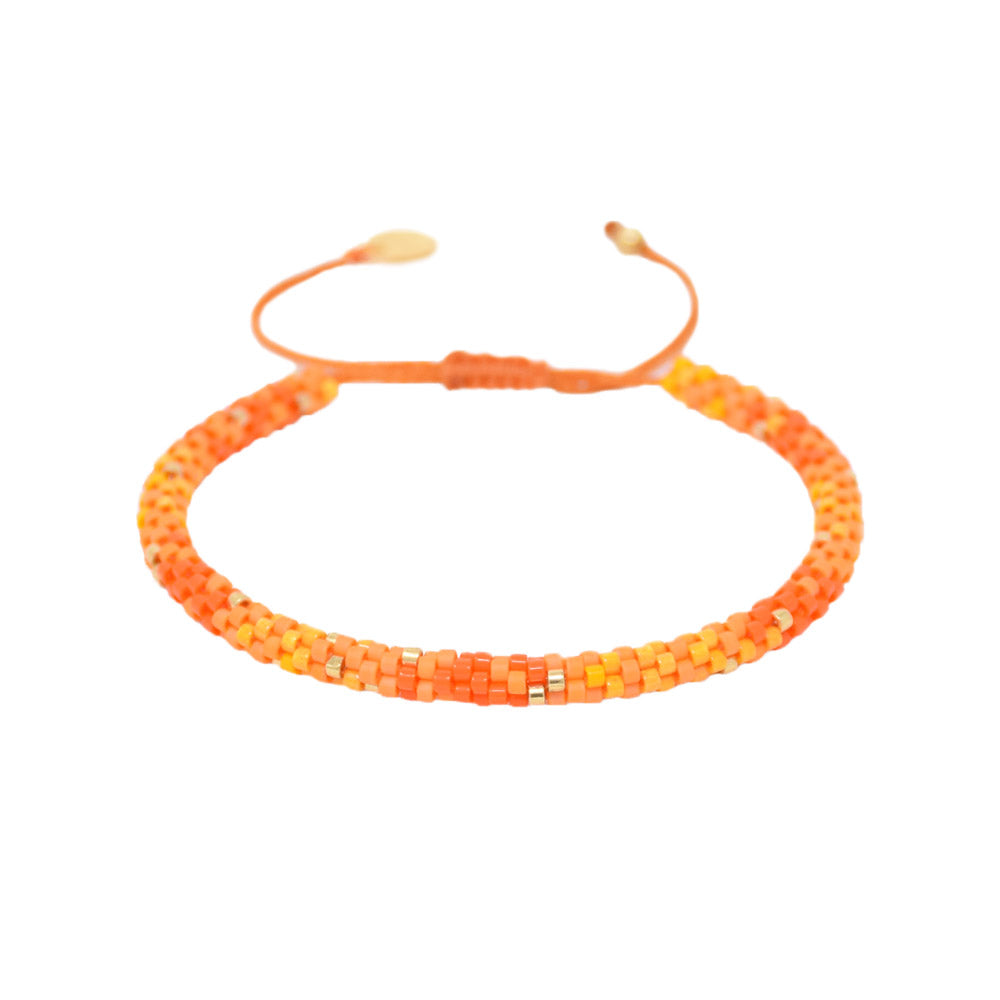 MISHKY Rainbow hoopys in orange