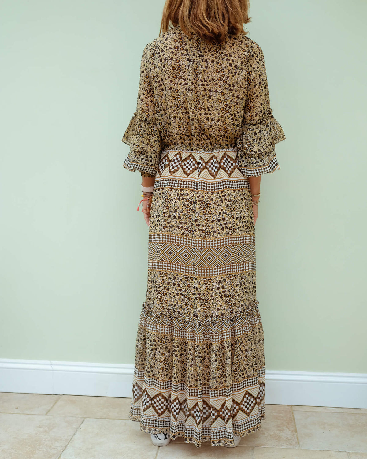 M Mitella dress in sienna
