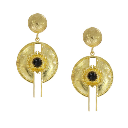 OTTOMAN CL19 Juno onyx statement earring