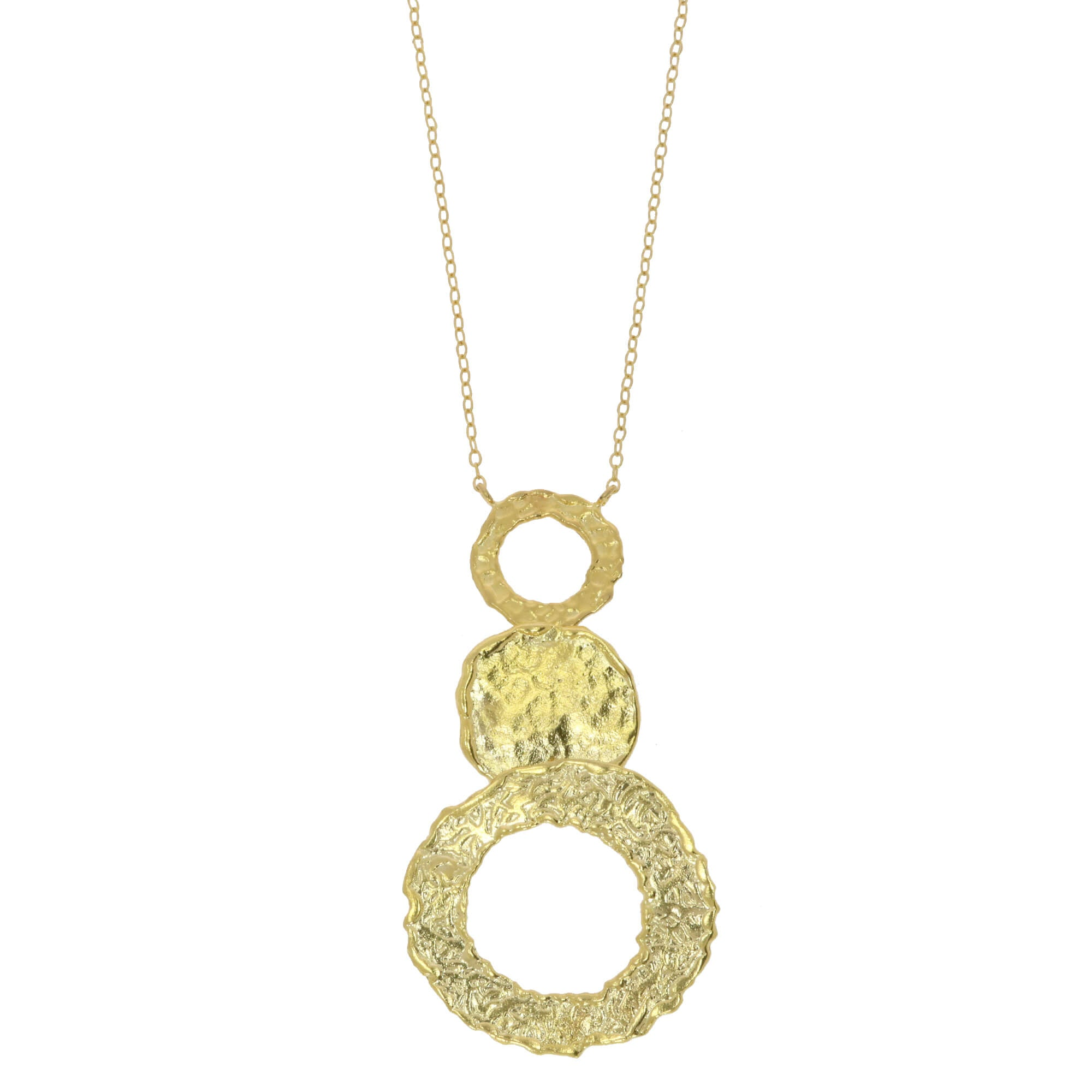 OTTOMAN DI14 Circles necklace in gold