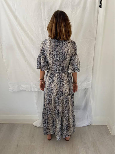 PP Alice dress in grey snake