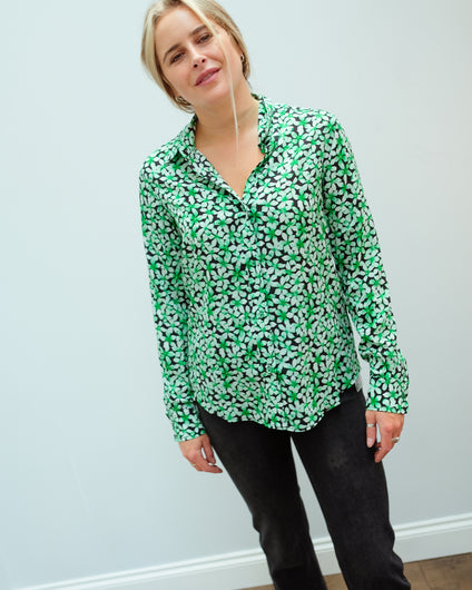 PP Gail Shirt in Pretty 02 Green